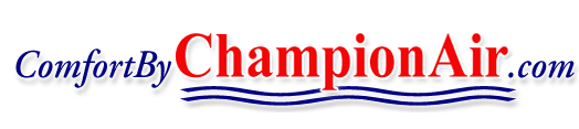 Logo: Champion Air LLC./Heating,Cooling & Refrigeration